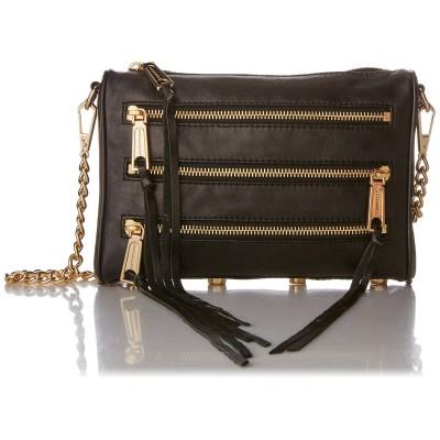 Ms. Rebecca Minkoff black leather shoulder bag