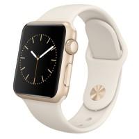 Apple Watch Sport Smart Watch (38 mm aluminum metal case wit ...